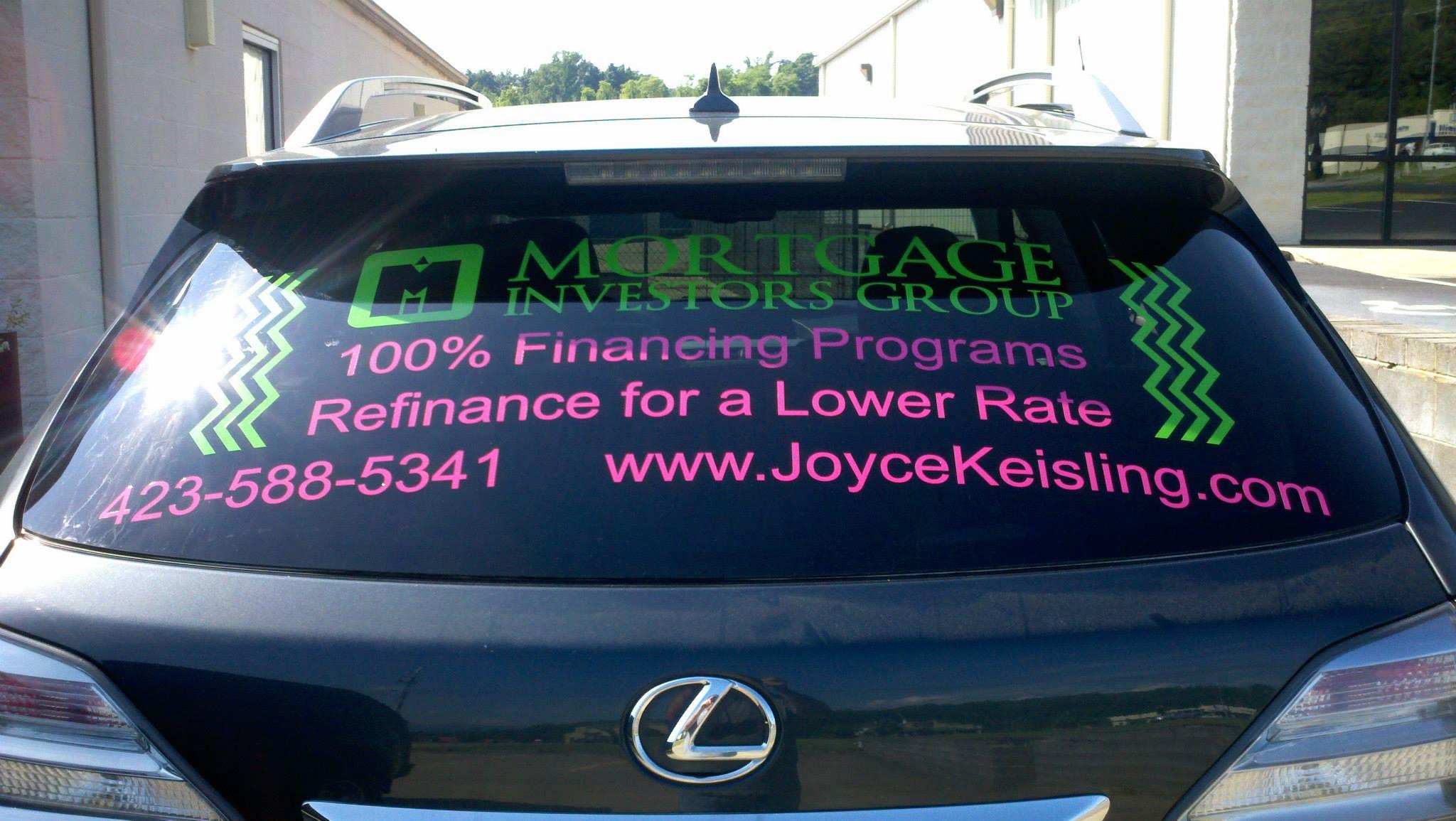 Mortgage Investors Group, Joyce Keisling